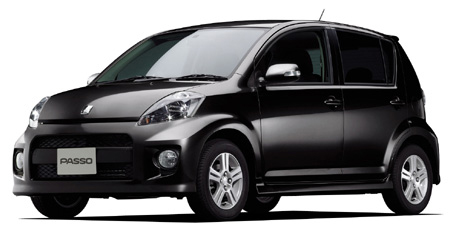 Toyota Passo Black